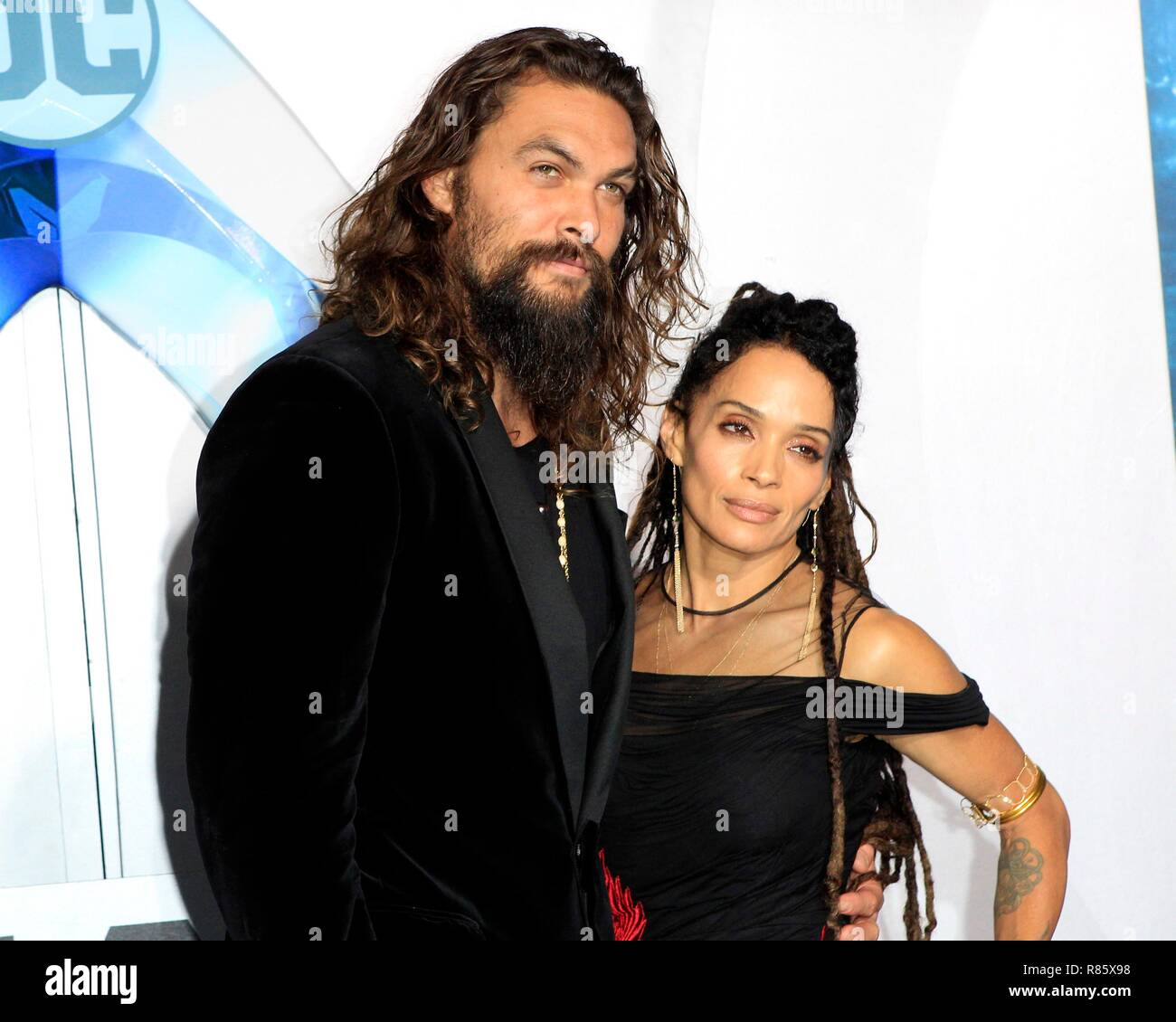 Jason Momoa And Lisa Bonet Stock Photos & Jason Momoa And