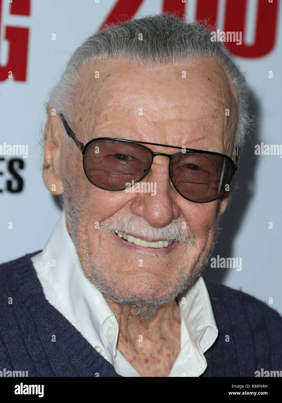 (FILE) Stan Lee Dies At 95. Stan Lee, the legendary writer, editor and publisher of Marvel Comics whose fantabulous but flawed creations made him a real-life superhero to comic book lovers everywhere, has died. He was 95. Lee, who began in the business in 1939 and created or co-created Black Panther, Spider-Man, the X-Men, the Mighty Thor, Iron Man, the Fantastic Four, the Incredible Hulk, Daredevil and Ant-Man, among countless other characters, died early Monday morning at Cedars-Sinai Medical Center in Los Angeles, a family representative told The Hollywood Reporter. LOS ANGELES, CA, USA - F - Stock Image