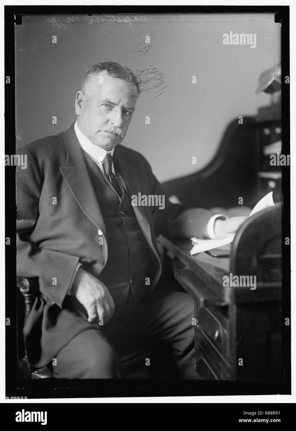CAPSTICK, JOHN HENRY  REP  FROM NEW JERSEY, 1915-1918 Stock