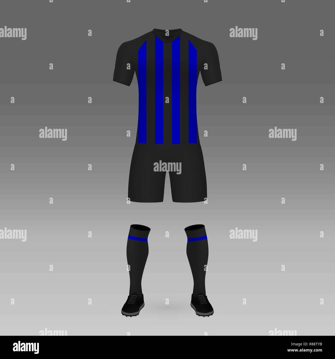 sneakers for cheap 60f83 0ad73 football kit Inter Milan, shirt template for soccer jersey ...