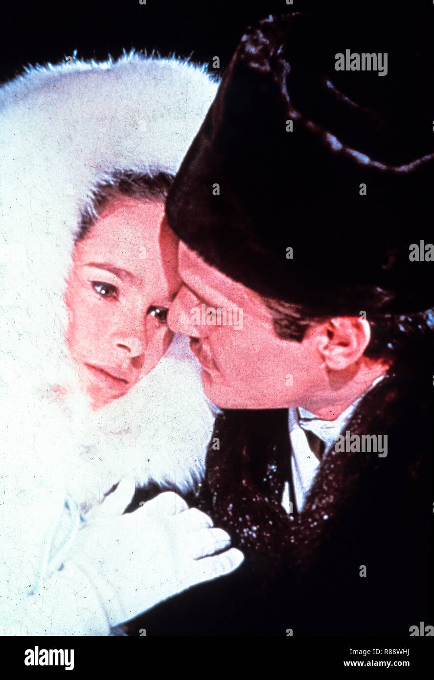 geraldine chaplin, omar sharif, doctor zivago, 1965 - Stock Image