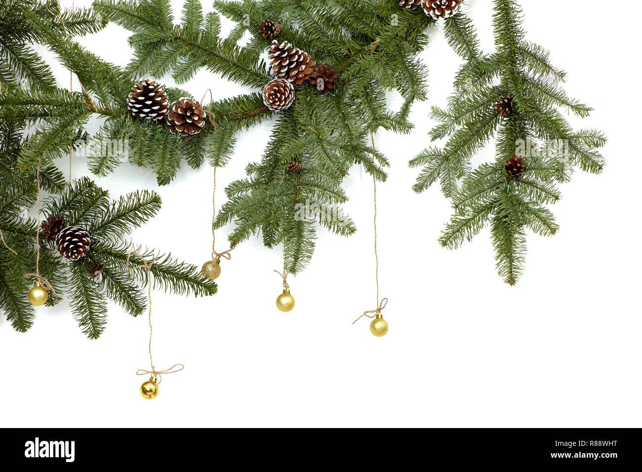 Weihnachtsbilder Tannenzweig.Fir Tree Border Stock Photos Fir Tree Border Stock Images Alamy