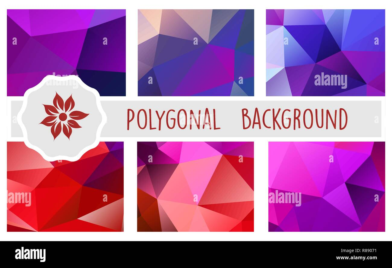 Polygonal Background For Craft Digital Paper And Websites And