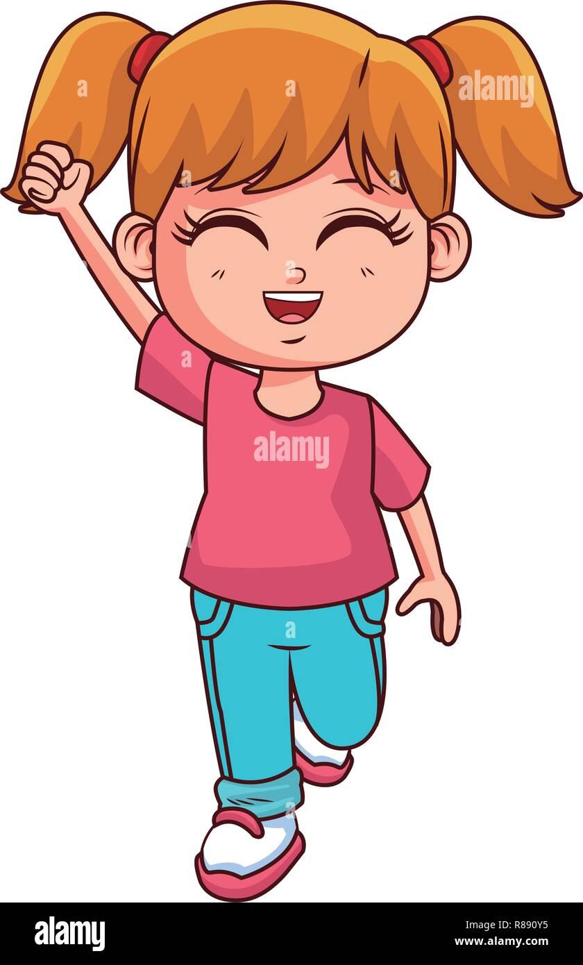 Cartoon Girl Stock Photos Cartoon Girl Stock Images Alamy