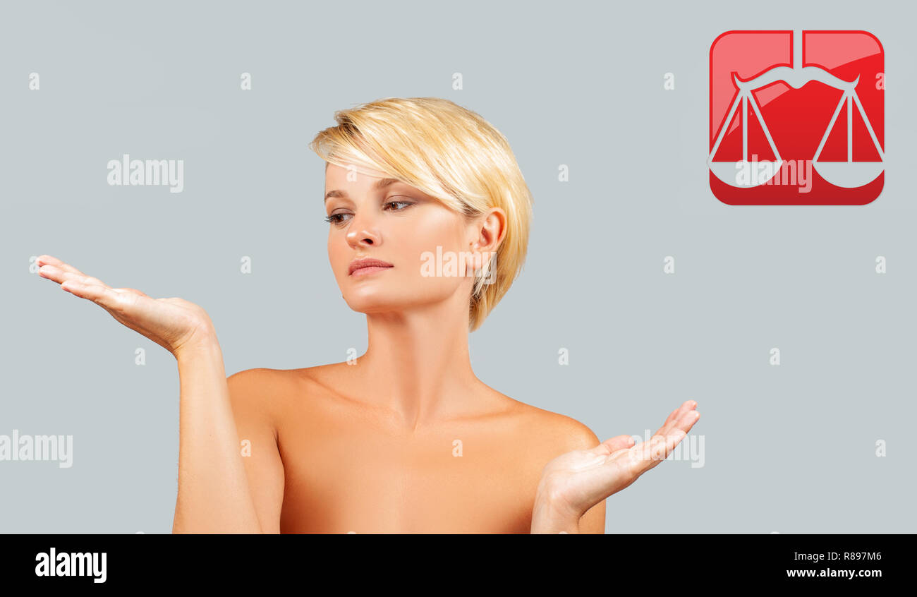 Libra Woman Stock Photos & Libra Woman Stock Images - Alamy