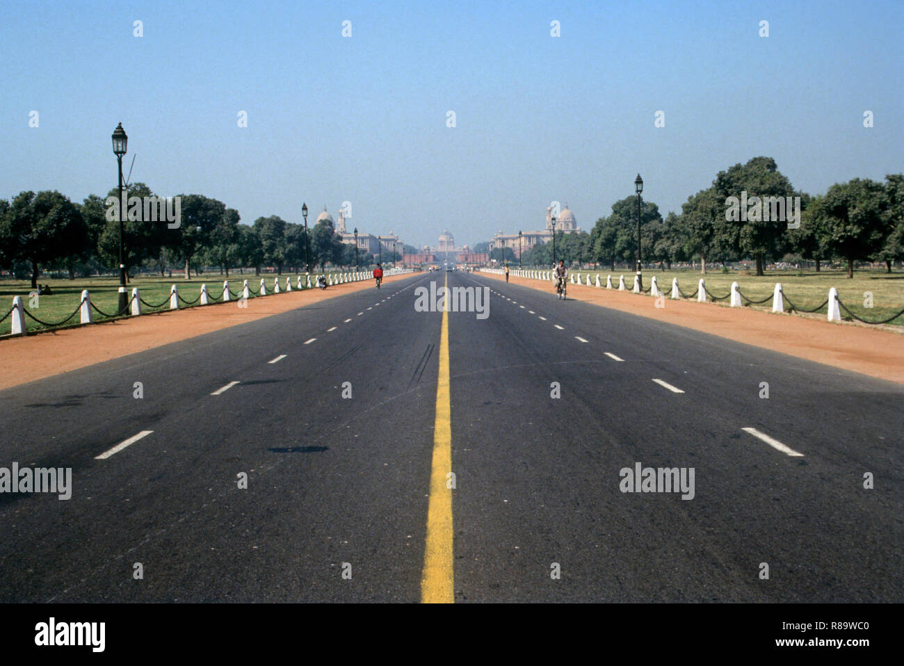 Raj Path, New Delhi, India - Stock Image