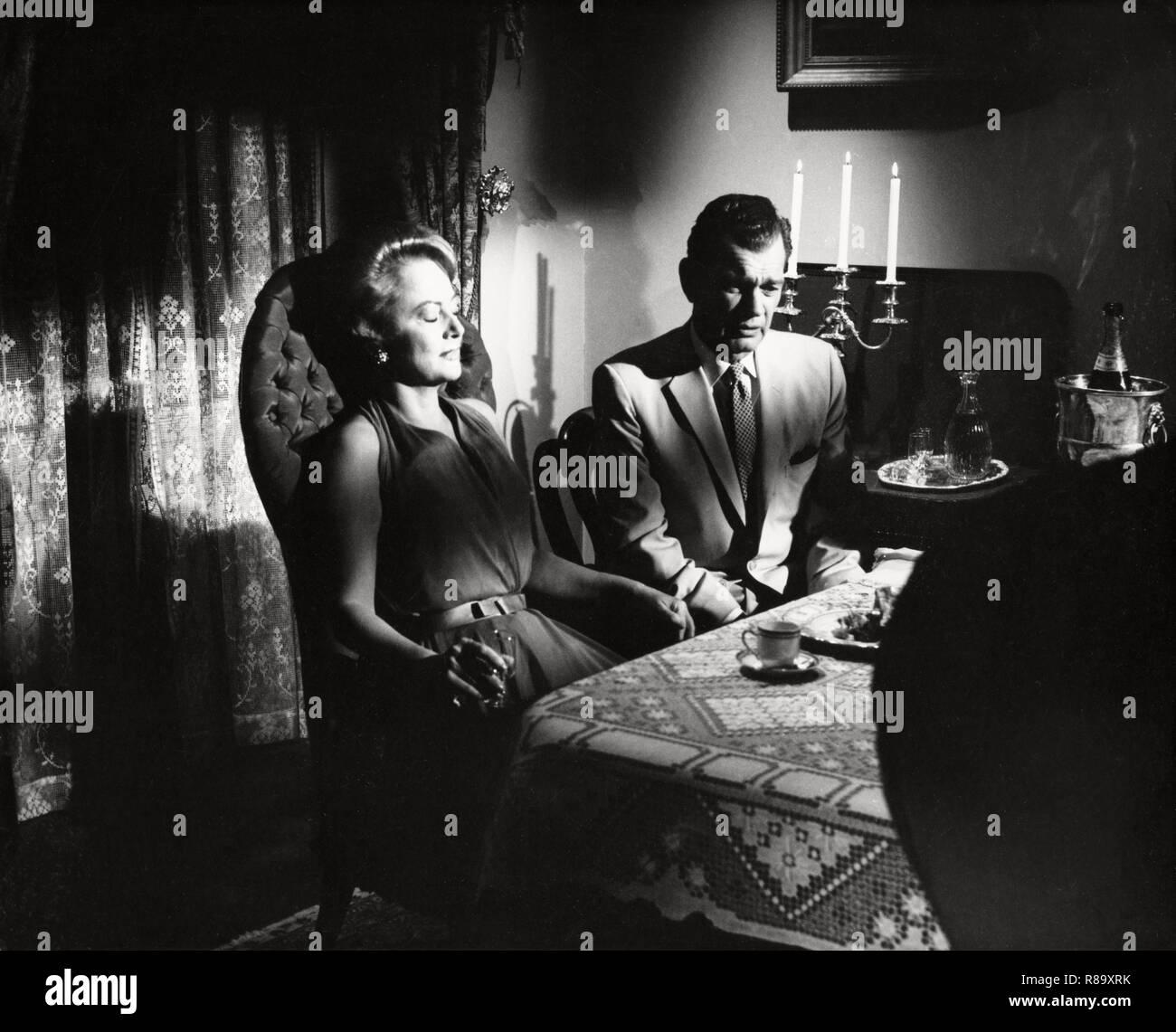 Hush...Hush, Sweet Charlotte Year : 1964 USA Director : Robert Aldrich Olivia de Havilland, Joseph Cotten - Stock Image