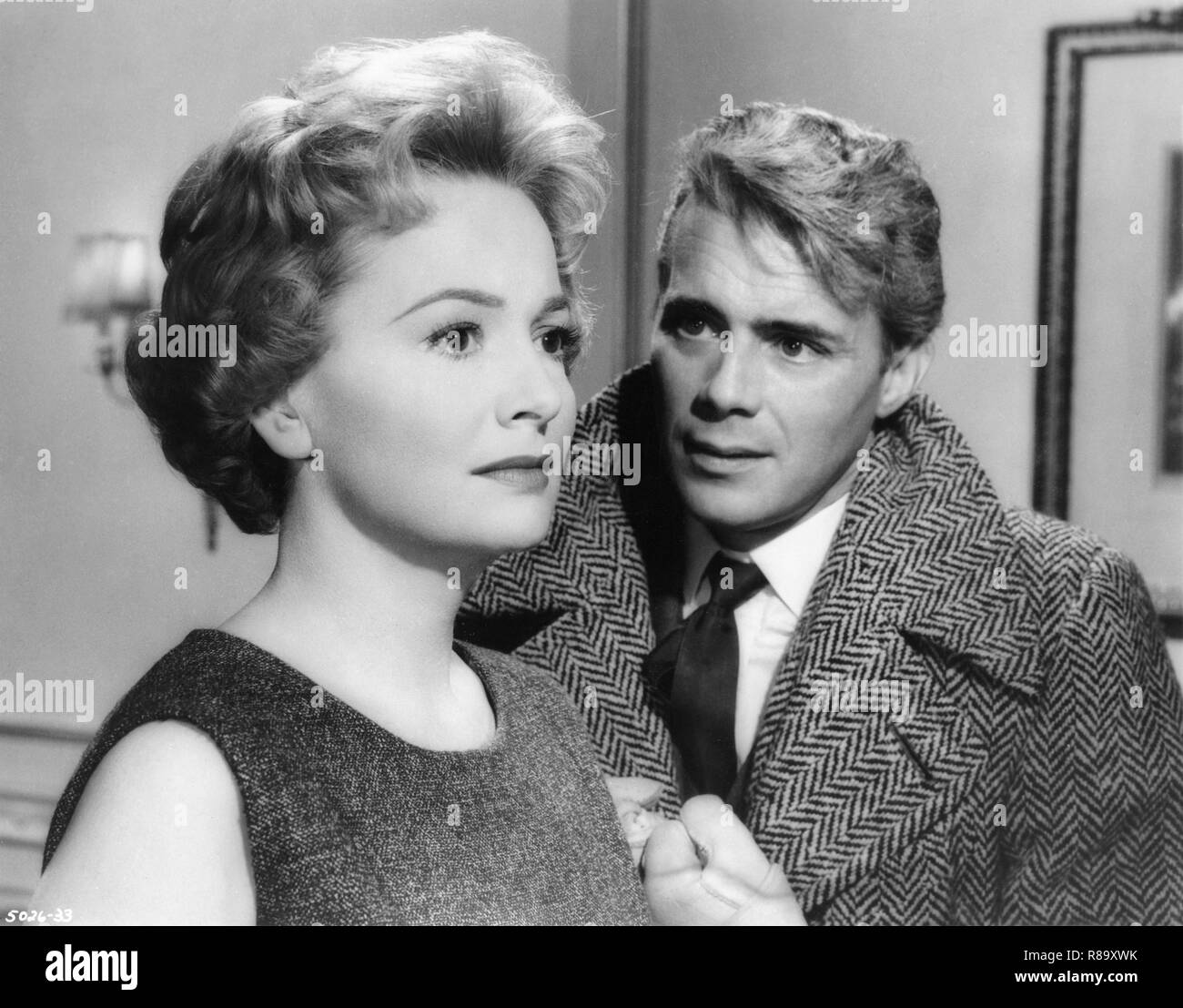 Libel Year : 1959 USA / UK Director : Anthony Asquith Olivia de Havilland, Dirk Bogarde - Stock Image