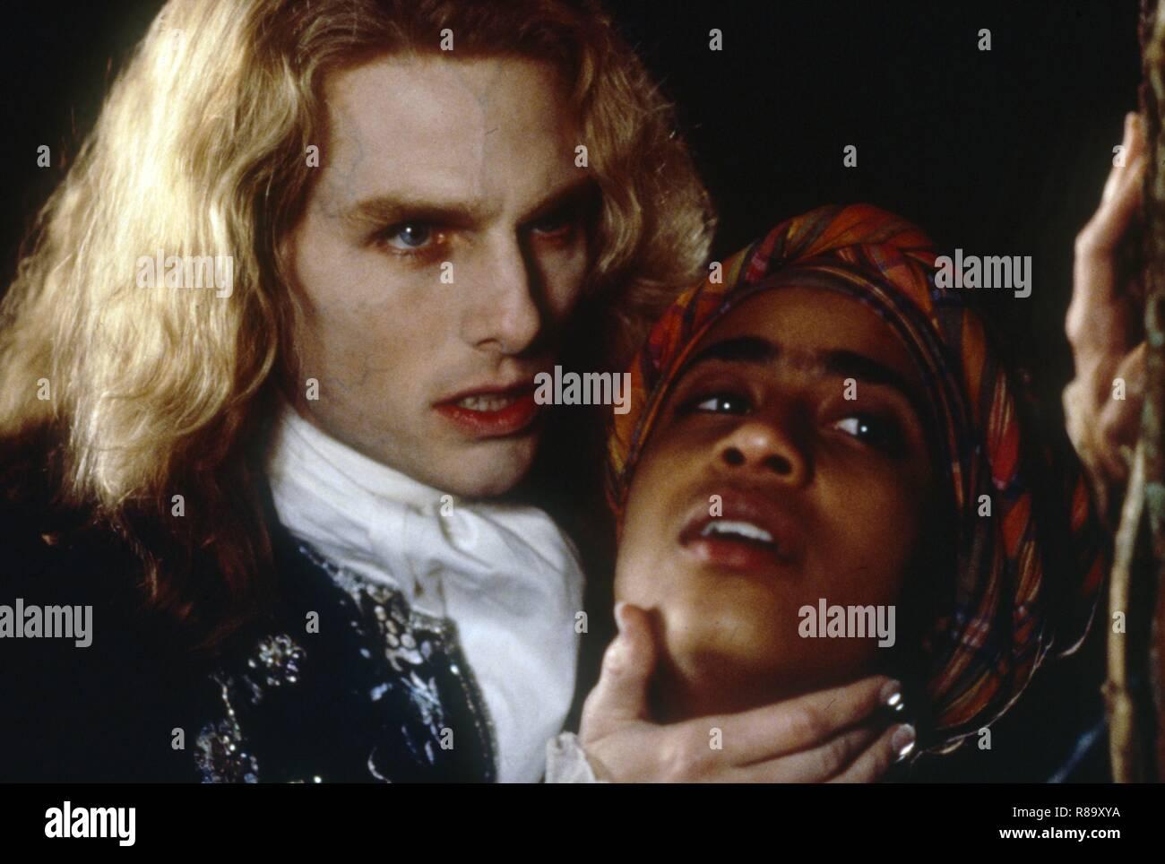 Interview With The Vampire The Vampire Chronicles Year 1994 Usa Director Neil Jordan Tom Cruise Thandie Newton Stock Photo Alamy