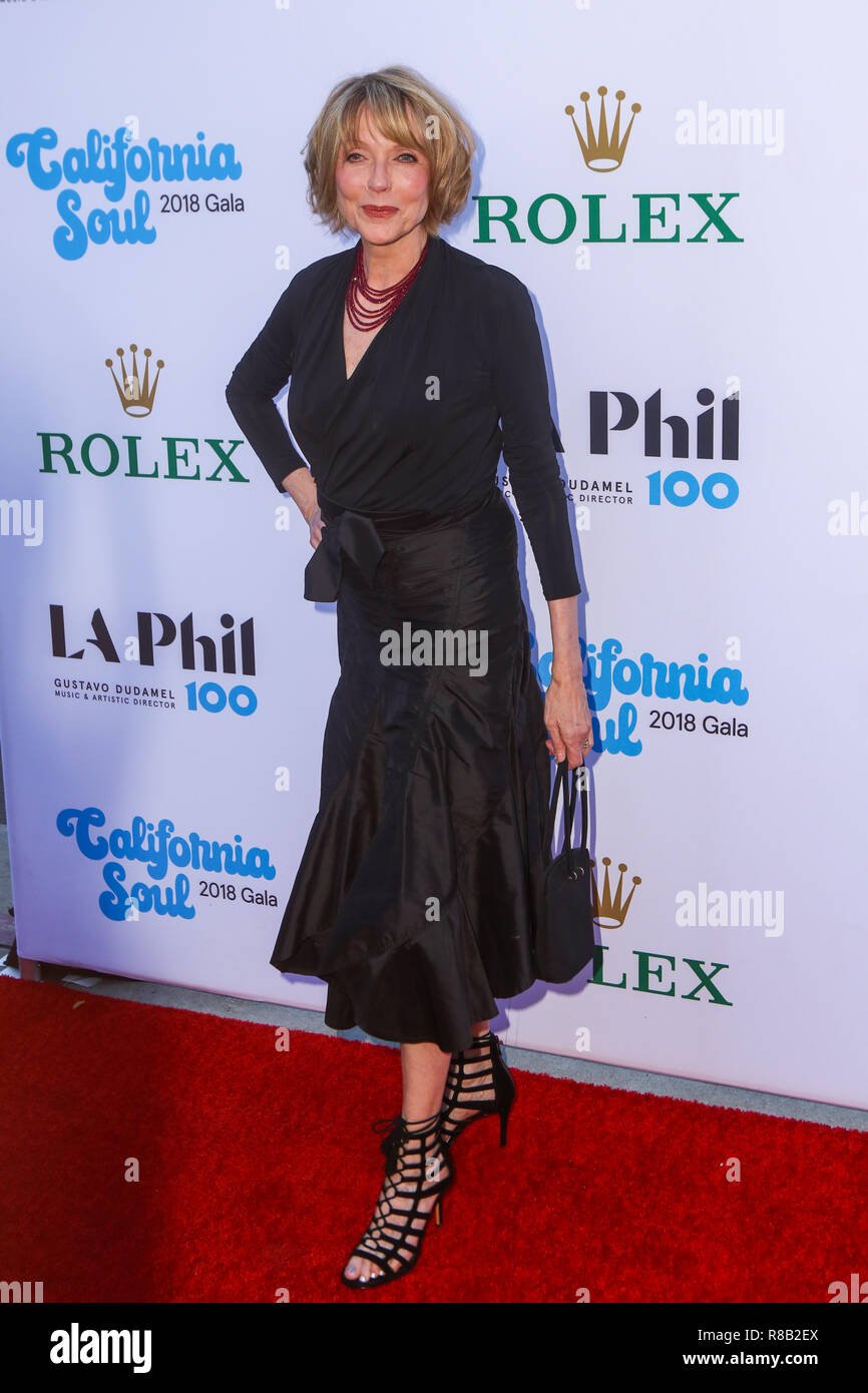 LOS ANGELES, CA, USA - SEPTEMBER 27: Susan Blakely at the Los Angeles Philharmonic Opening Night 2018 held at the Walt Disney Concert Hall on September 27, 2018 in Los Angeles, California, United States. (Photo by Rudy Torres/Image Press Agency) - Stock Image