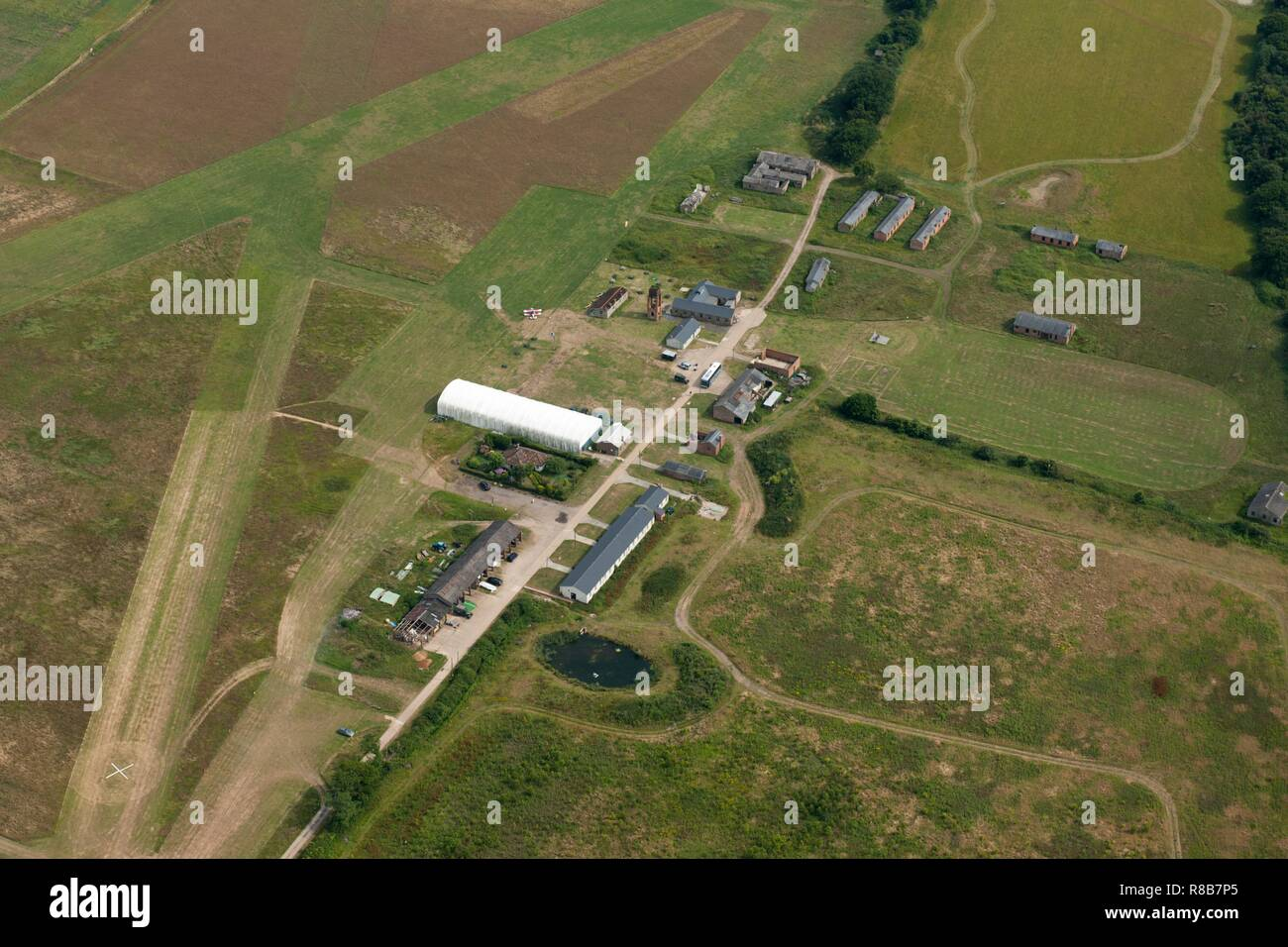 Stow Maries World War I Aerodrome, Maldon, Essex, 2014. - Stock Image