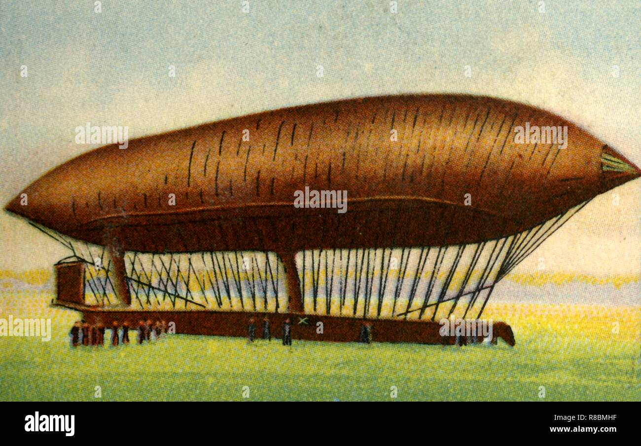 Renard and Krebs' airship, 1884, (1932)  The electric
