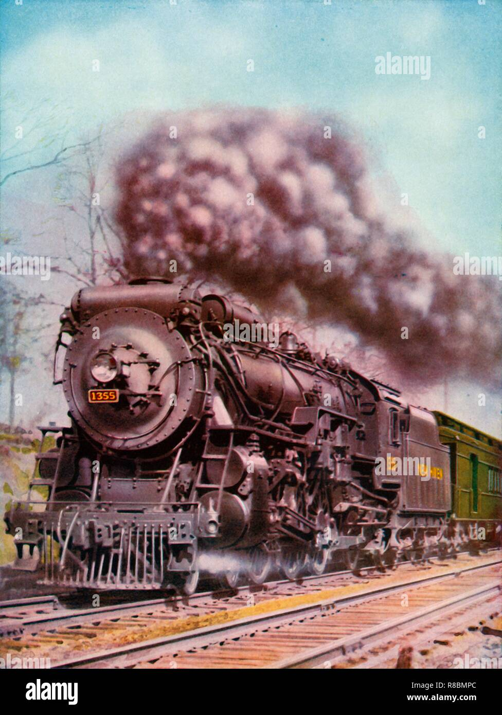 On The New York New Haven And Hartford Railroad 1935 36 From