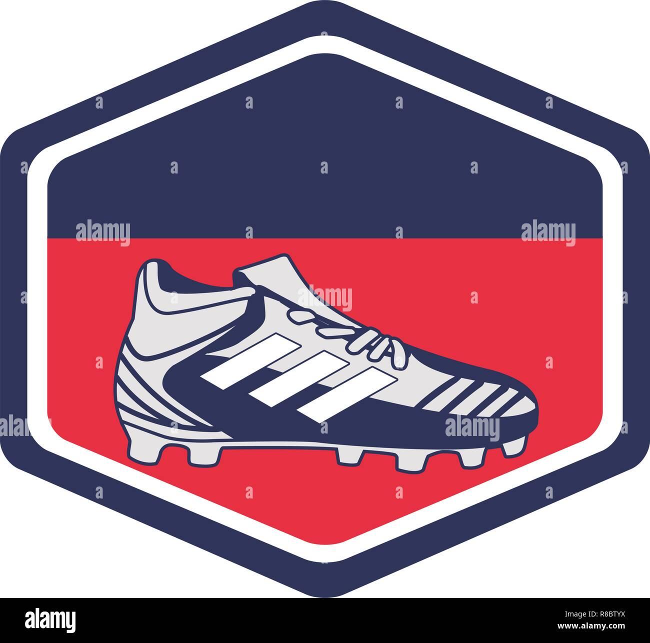 football sport cartoon Stock Vector