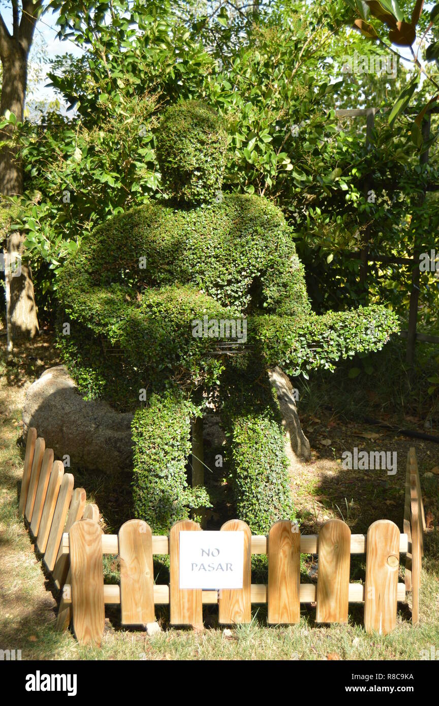 Topiary Animal Stock Photos Topiary Animal Stock Images Alamy