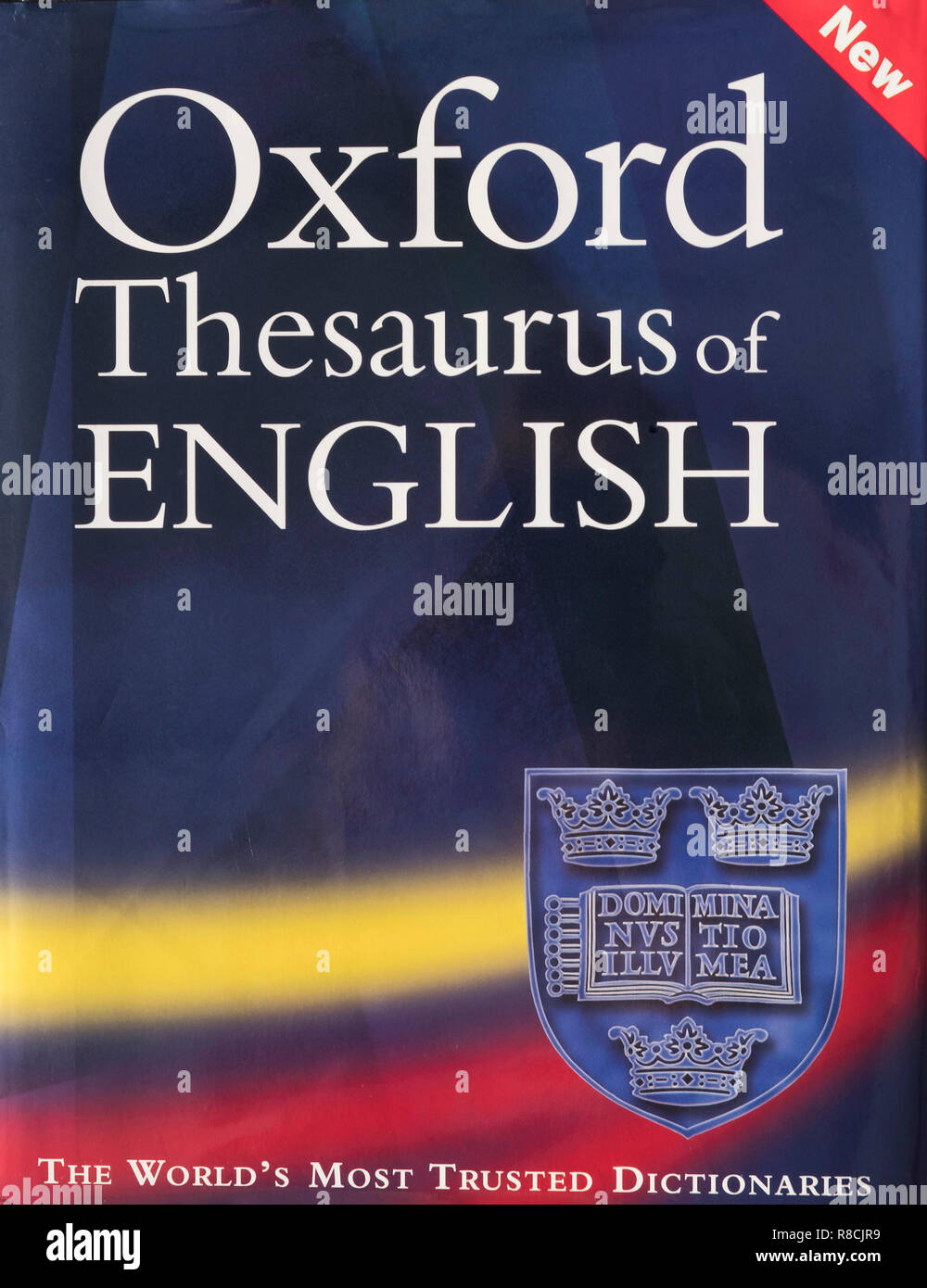 dh English Thesaurus book BOOKS UK Front cover Oxford dictionaries books  hardback