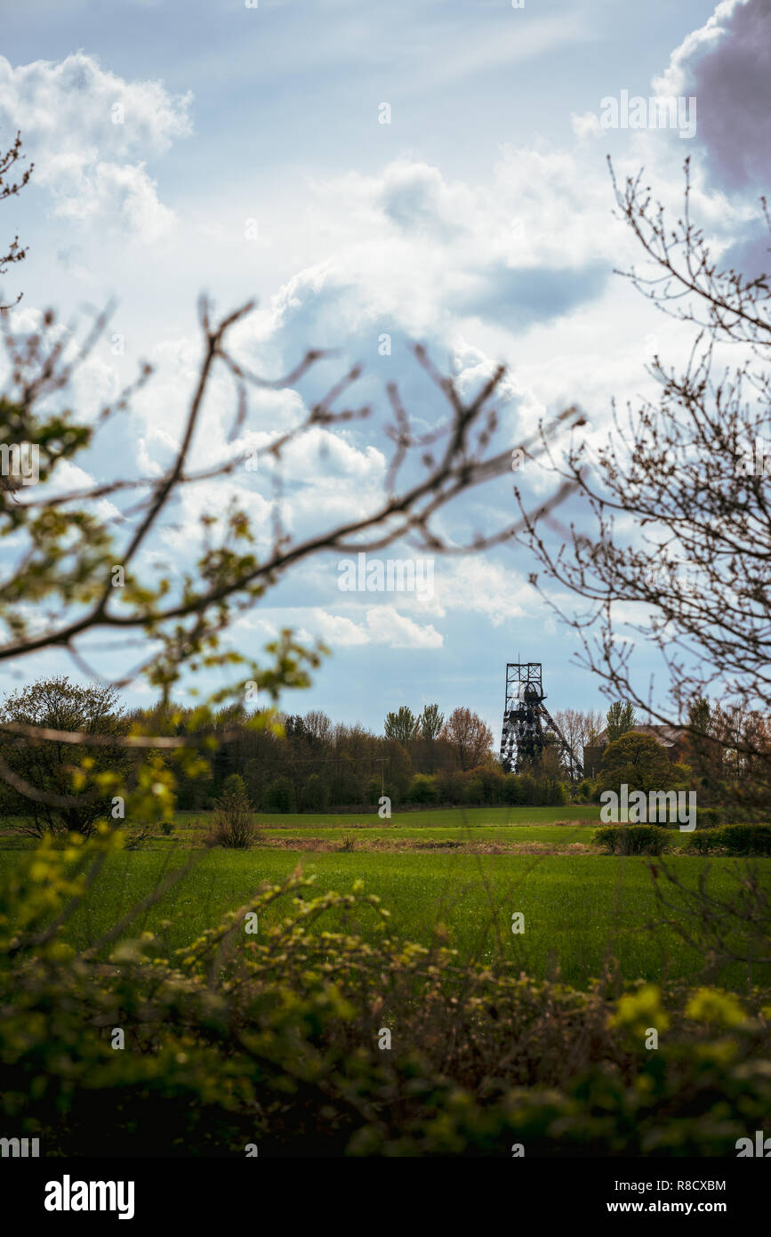 Astley Pit - Stock Image