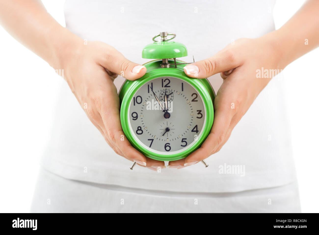 Biological clock - Stock Image