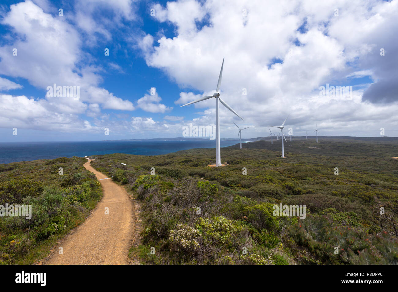 Albany Wind Farm, Western Australia - Stock Image