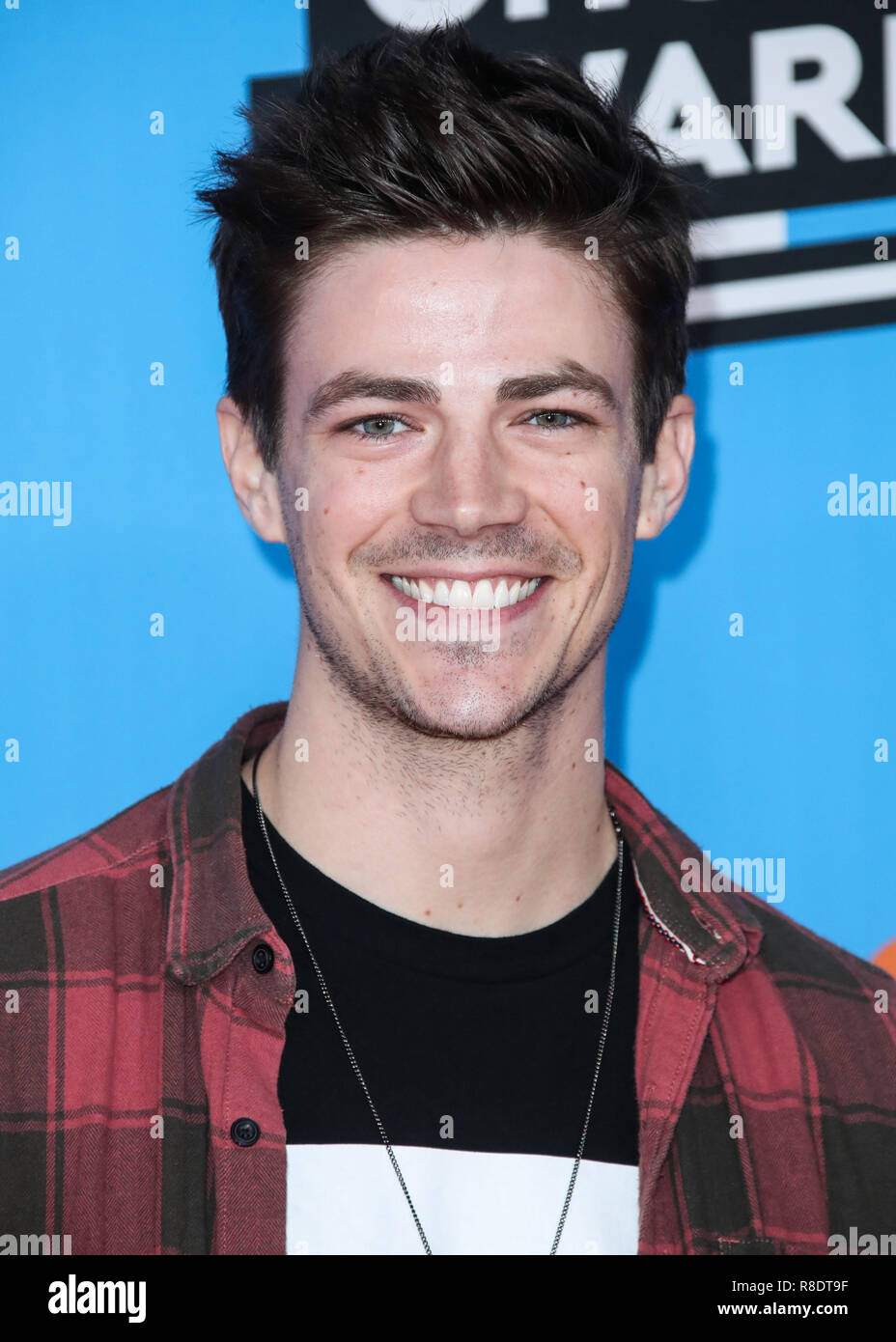 Grant Gustin High Resolution Stock Photography And Images Alamy