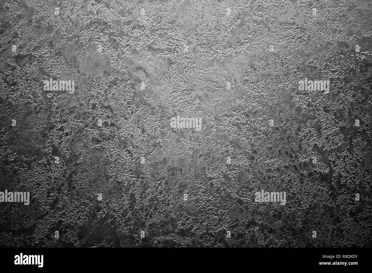 Dark grunge black abstract texture vignette background Stock Photo