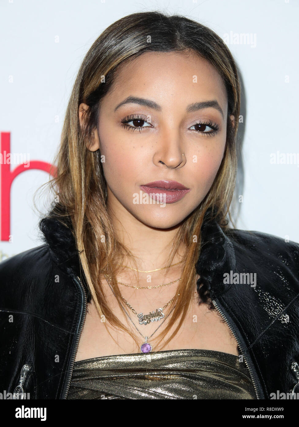 HOLLYWOOD, LOS ANGELES, CA, USA - FEBRUARY 25: Tinashe Jorgensen Kachingwe at the 4th Annual Hollywood Beauty Awards held at Avalon Hollywood on February 25, 2018 in Hollywood, Los Angeles, California, United States. (Photo by Xavier Collin/Image Press Agency) - Stock Image