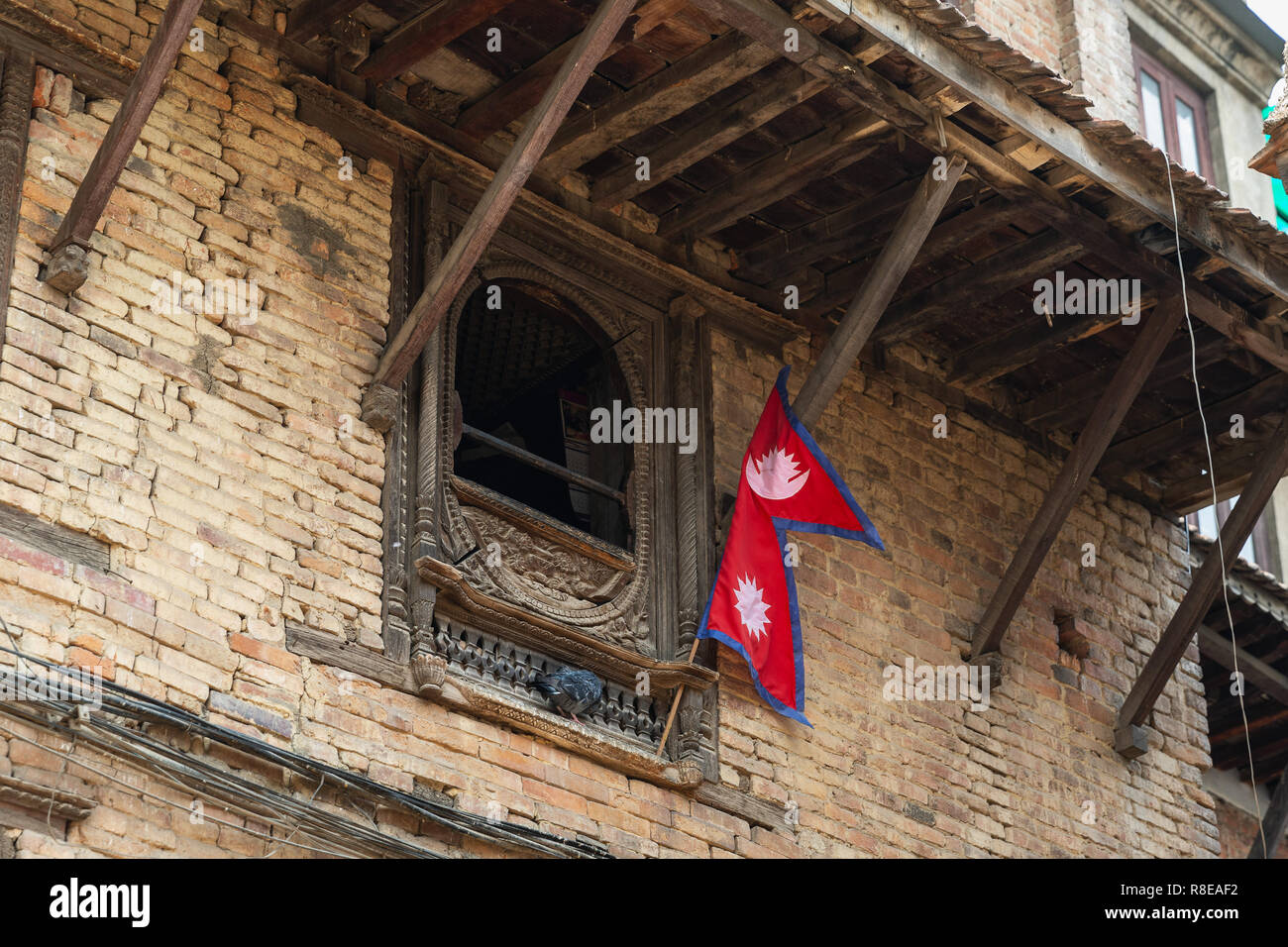 Nepali Window High Resolution Stock Photography And Images Alamy