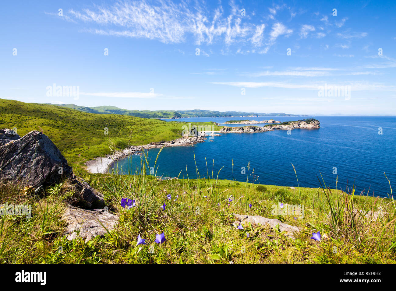 Far East Marine Reserve. Primorsky region, Russia Stock Photo