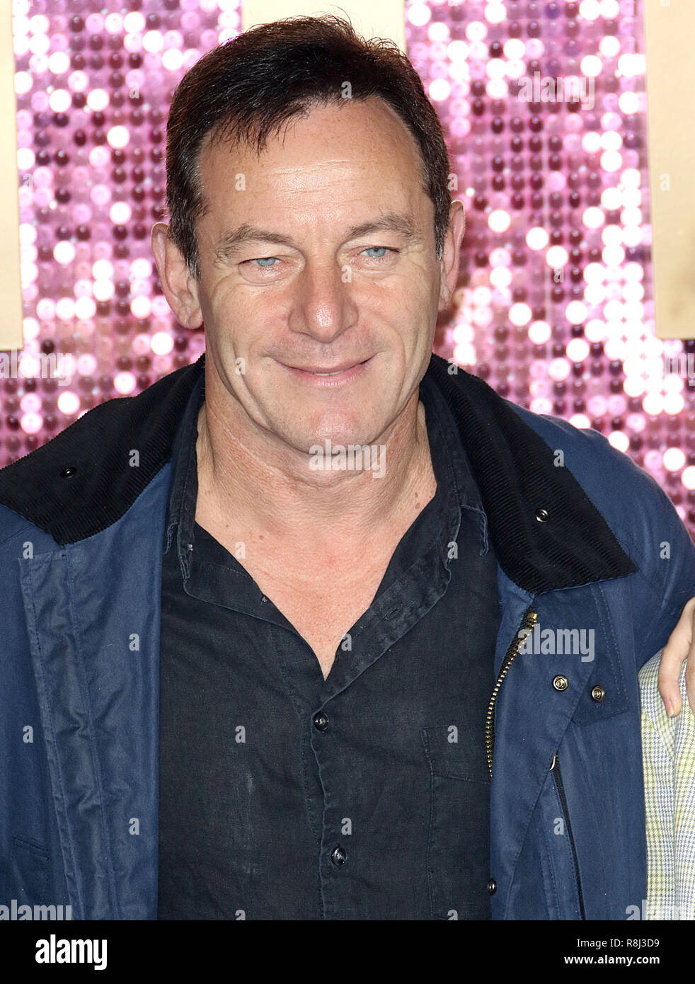 Oct 23, 2018  - Jason Isaacs attending Bohemian Rhapsody World Premiere, SSE Arena, Wembley in London, UK Stock Photo