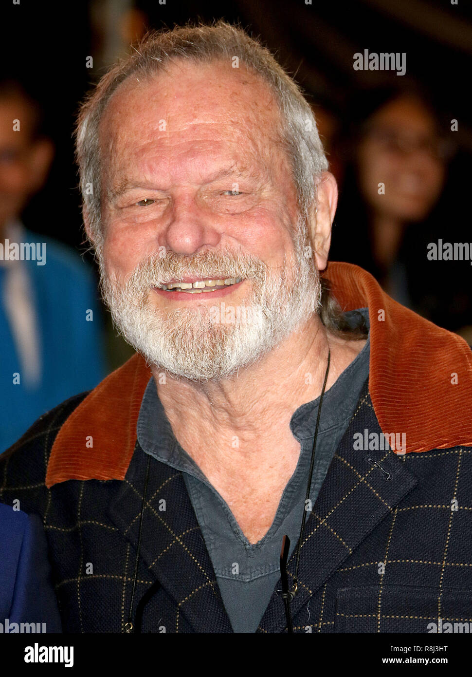 Oct 10, 2018  - Terry Gilliam attending London Film Festival opening night gals, Widows European Premiere in London, UK - Stock Image