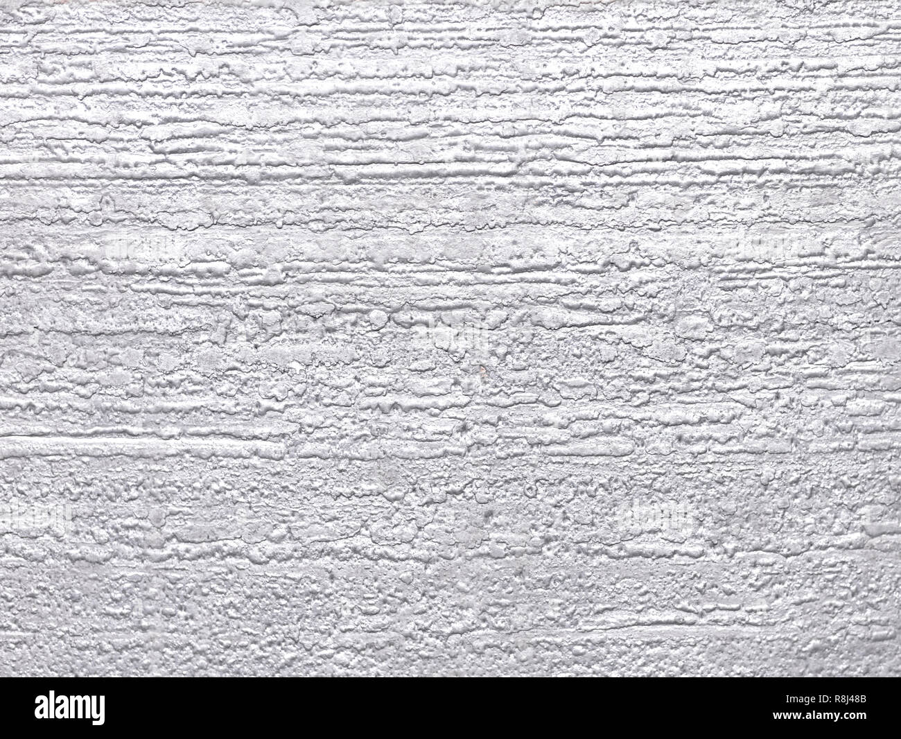aluminum background with texture showing big slab surface after melting Stock Photo