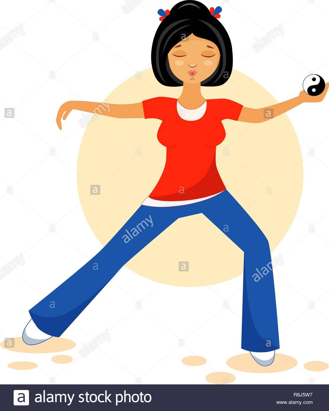 Tai Chi Qigong Yoga Stock Photos & Tai Chi Qigong Yoga Stock