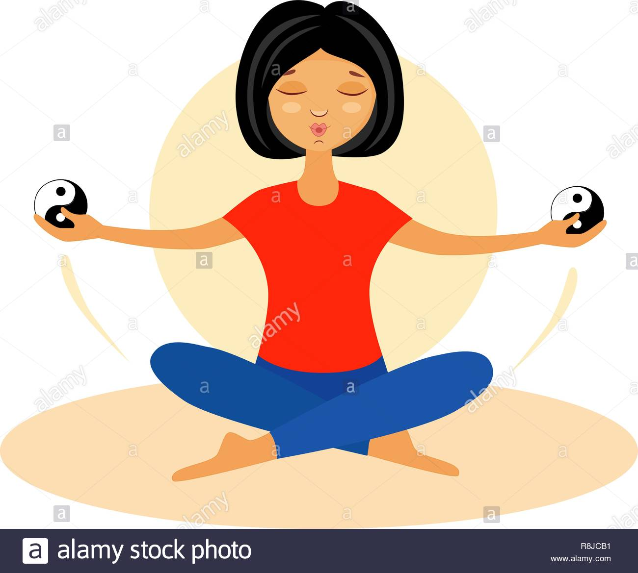 Qigong Exercises Stock Photos & Qigong Exercises Stock