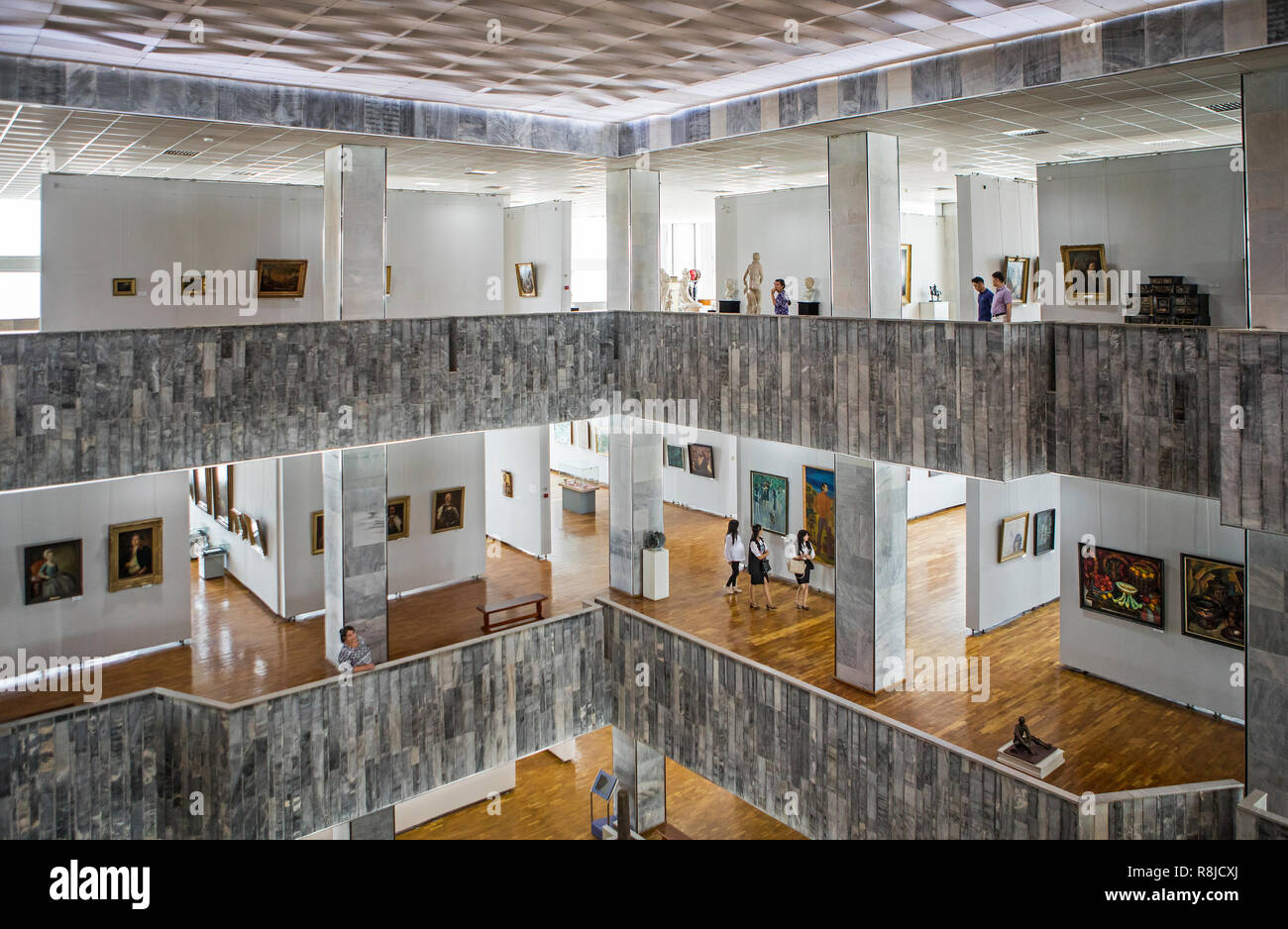 The State Museum Of Arts Of Uzbekistan Or State Fine Arts Museum 16 Amir Temur Avenue Tashkent Uzbekistan Stock Photo Alamy
