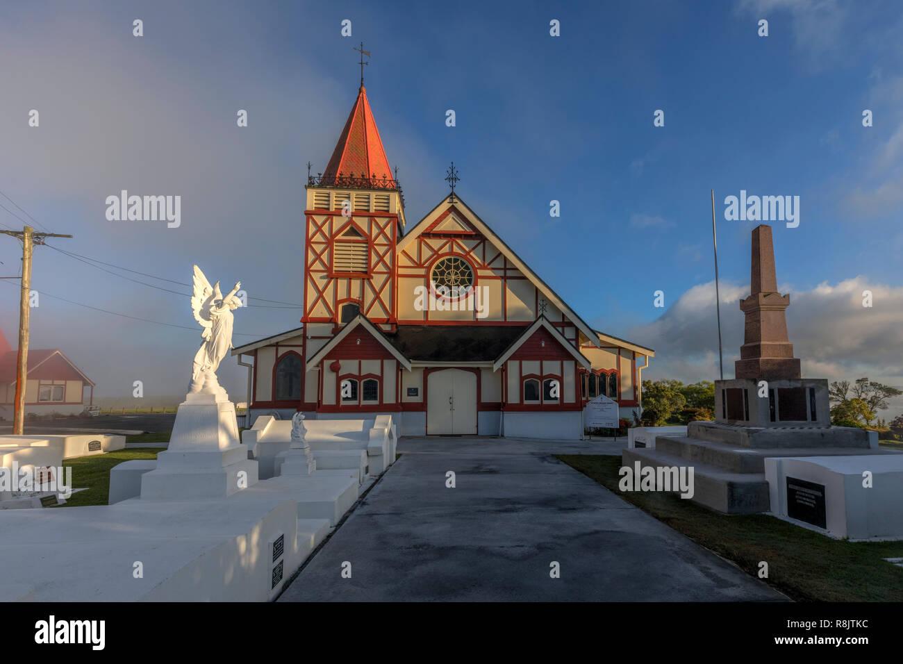 Rotorua, Bay of Plenty, North Island, New Zealand - Stock Image