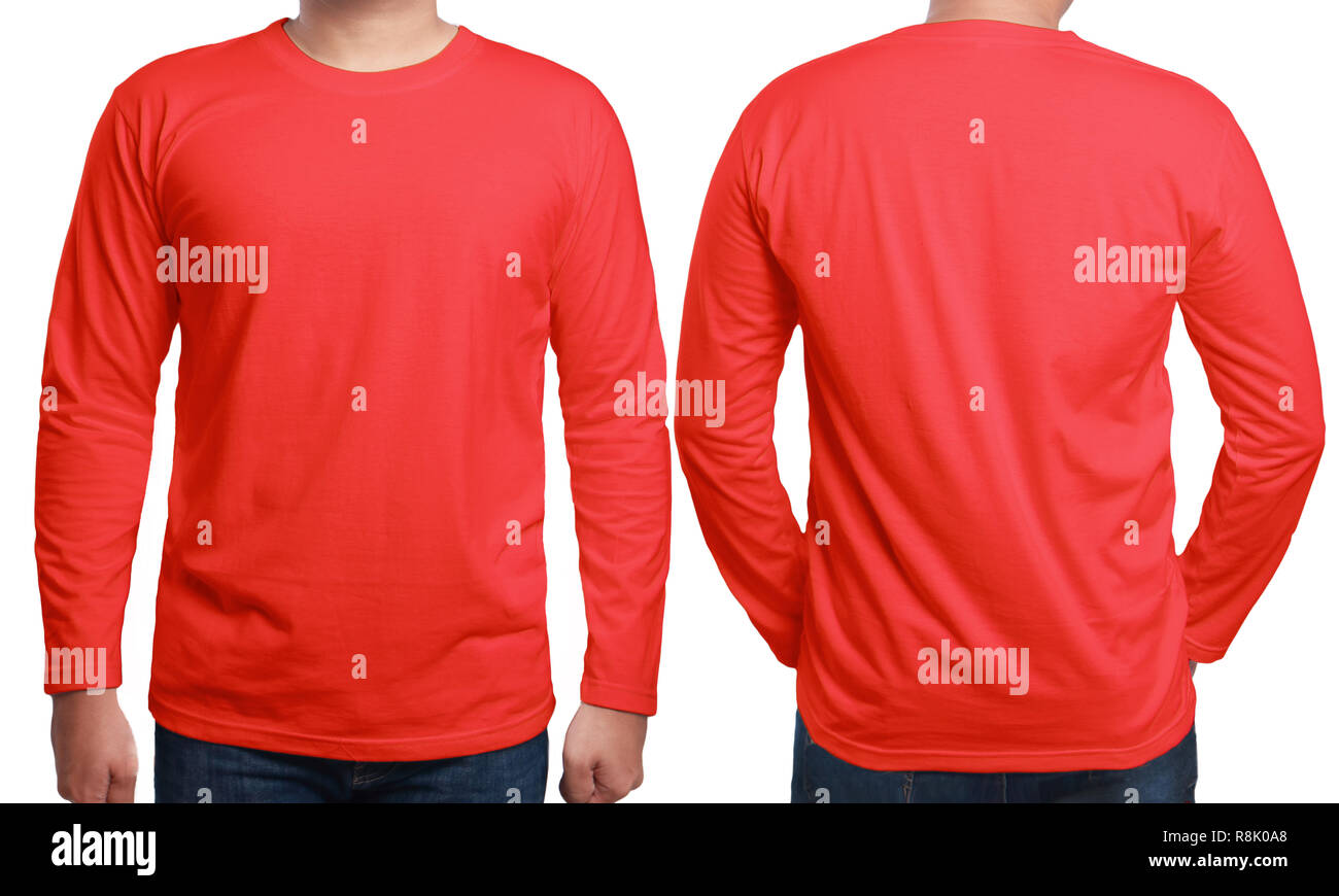How to plain a wear red shirt