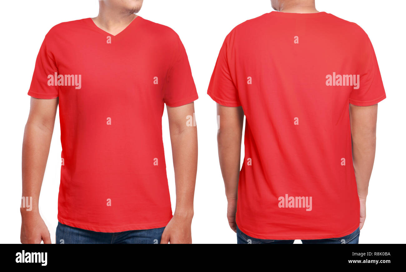 282651ce4acc V Neck T Shirt Stock Photos   V Neck T Shirt Stock Images - Alamy