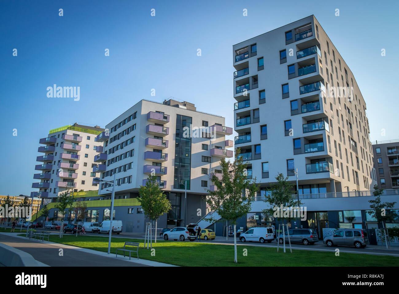 Aspern, Wien, Österreich - Stock Image
