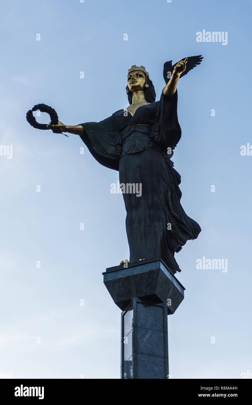 Statue of Sveta Sofia Stock Photo