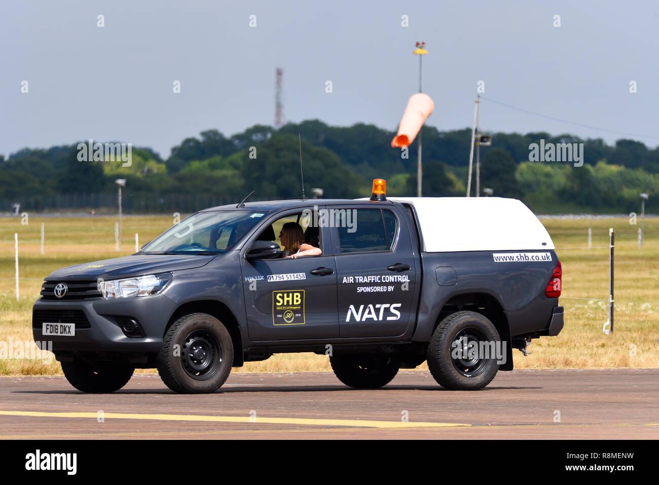 Nats Air Traffic Control Vehicle At Royal International Air Tattoo