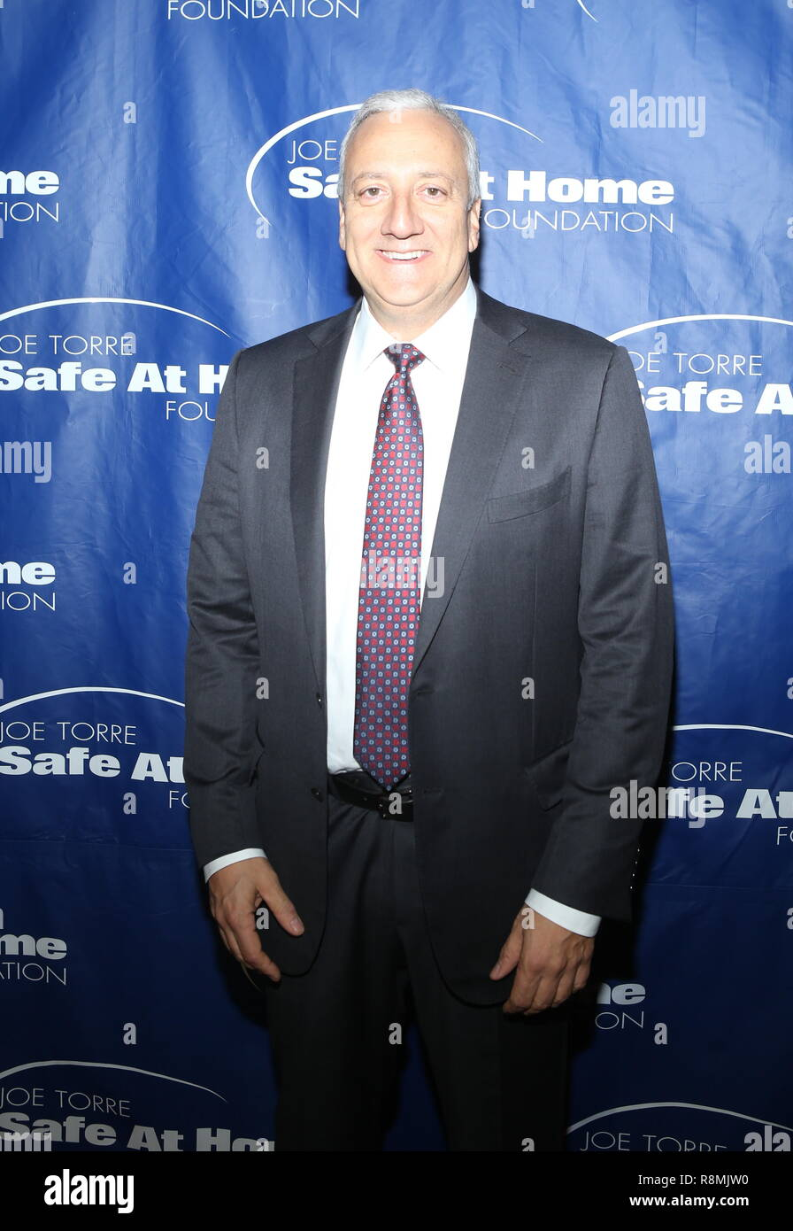 16th Annual Joe Torre Safe At Home Foundation Gala at Cipriani Financial District  Featuring: Michael Massimino Where: New York, New York, United States When: 15 Nov 2018 Credit: Derrick Salters/WENN.com - Stock Image