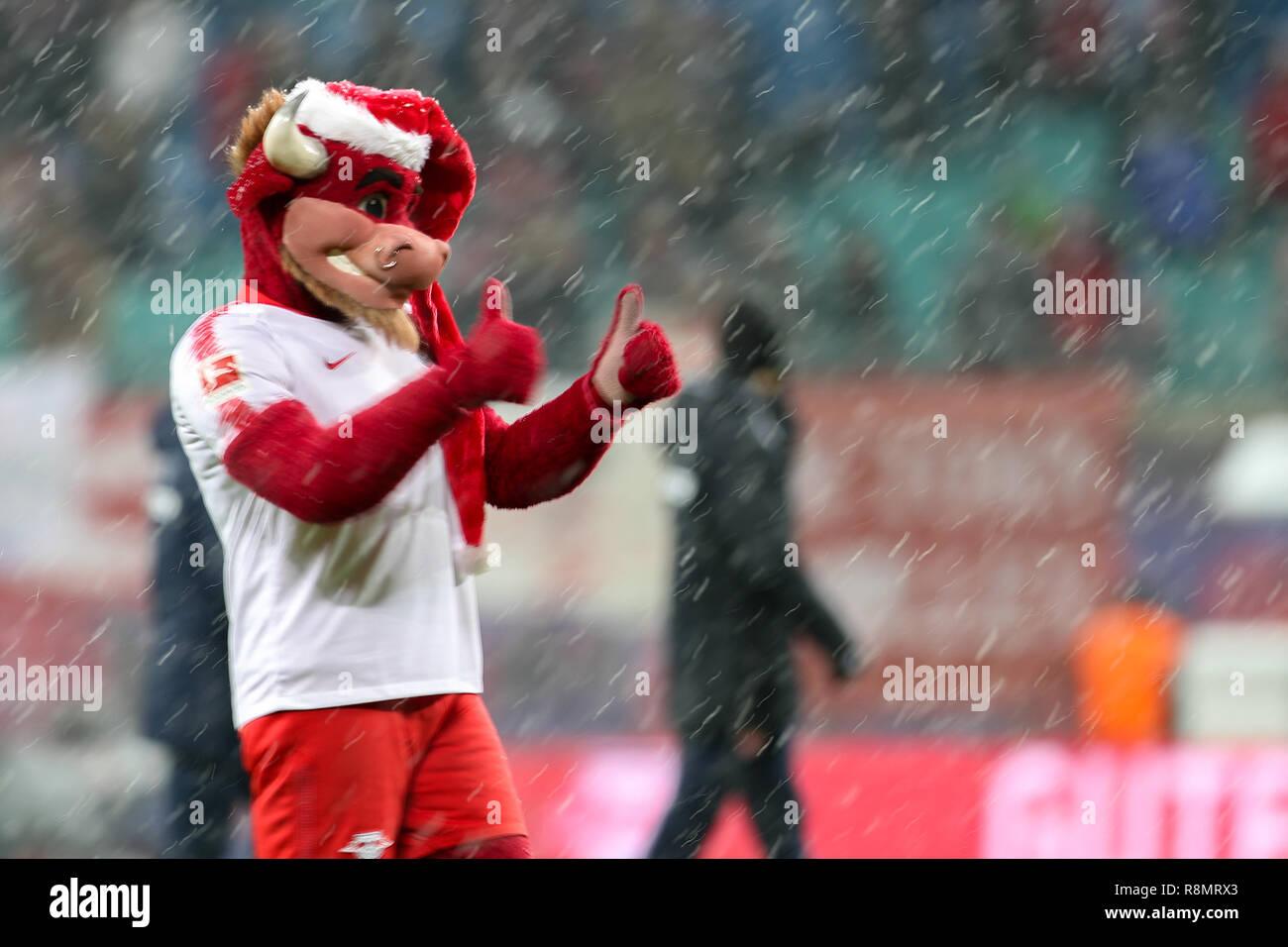 Leipzig Germany 16th Dec 2018 Soccer Bundesliga 15th Matchday Rb Leipzig Fsv Mainz 05 In The