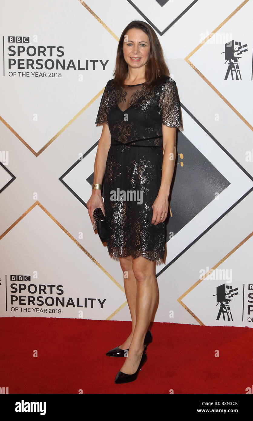 Birmingham, UK. 16th Dec, 2018. Jo Pavey on the red carpet at the BBC Sports Personality Of The Year 2018 at the Resorts World Arena. Credit: Keith Mayhew/SOPA Images/ZUMA Wire/Alamy Live News - Stock Image