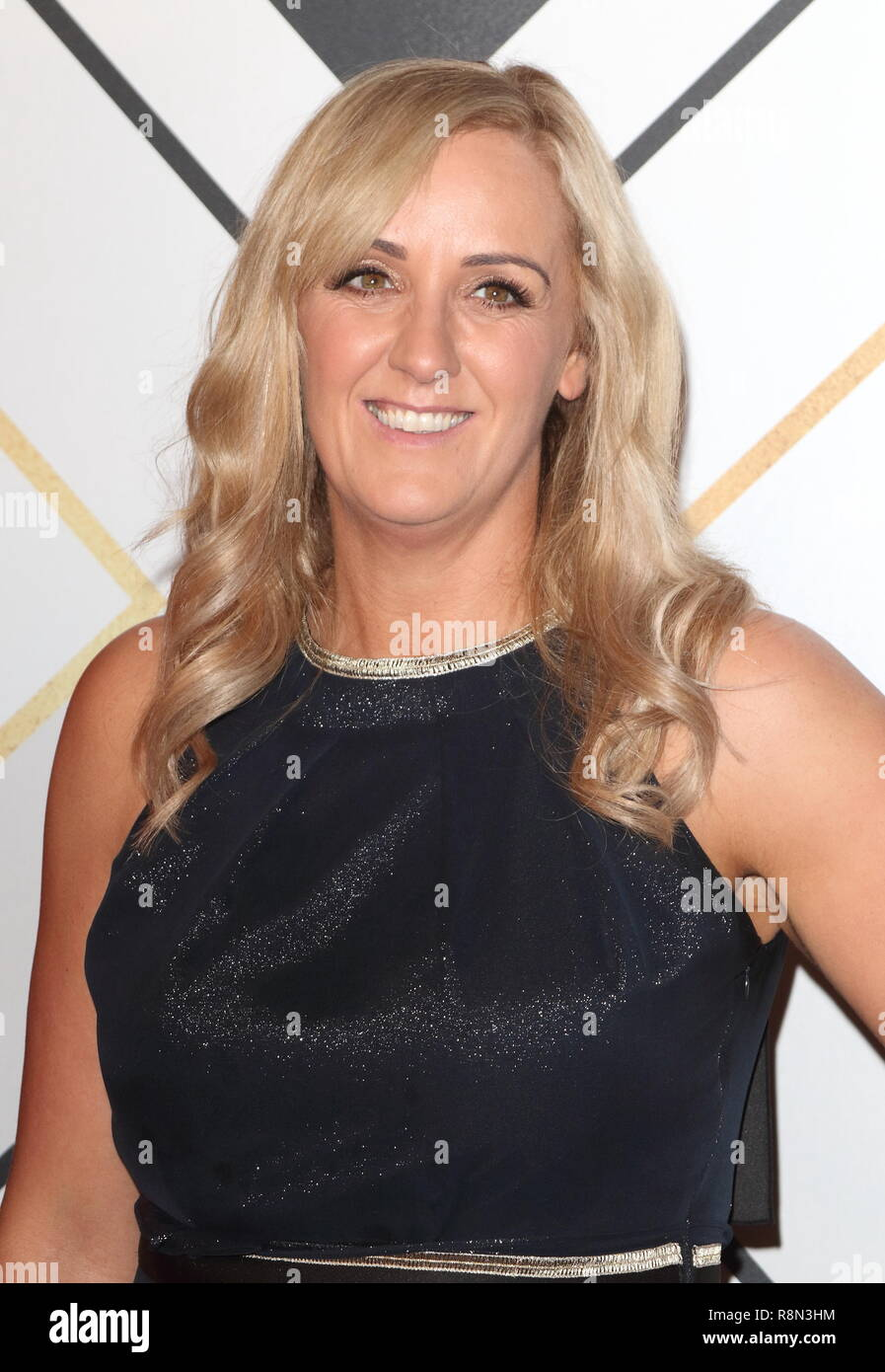 Birmingham, UK. 16th Dec, 2018. Tracey Neville on the red carpet at the BBC Sports Personality Of The Year 2018 at the Resorts World Arena. Credit: Keith Mayhew/SOPA Images/ZUMA Wire/Alamy Live News - Stock Image