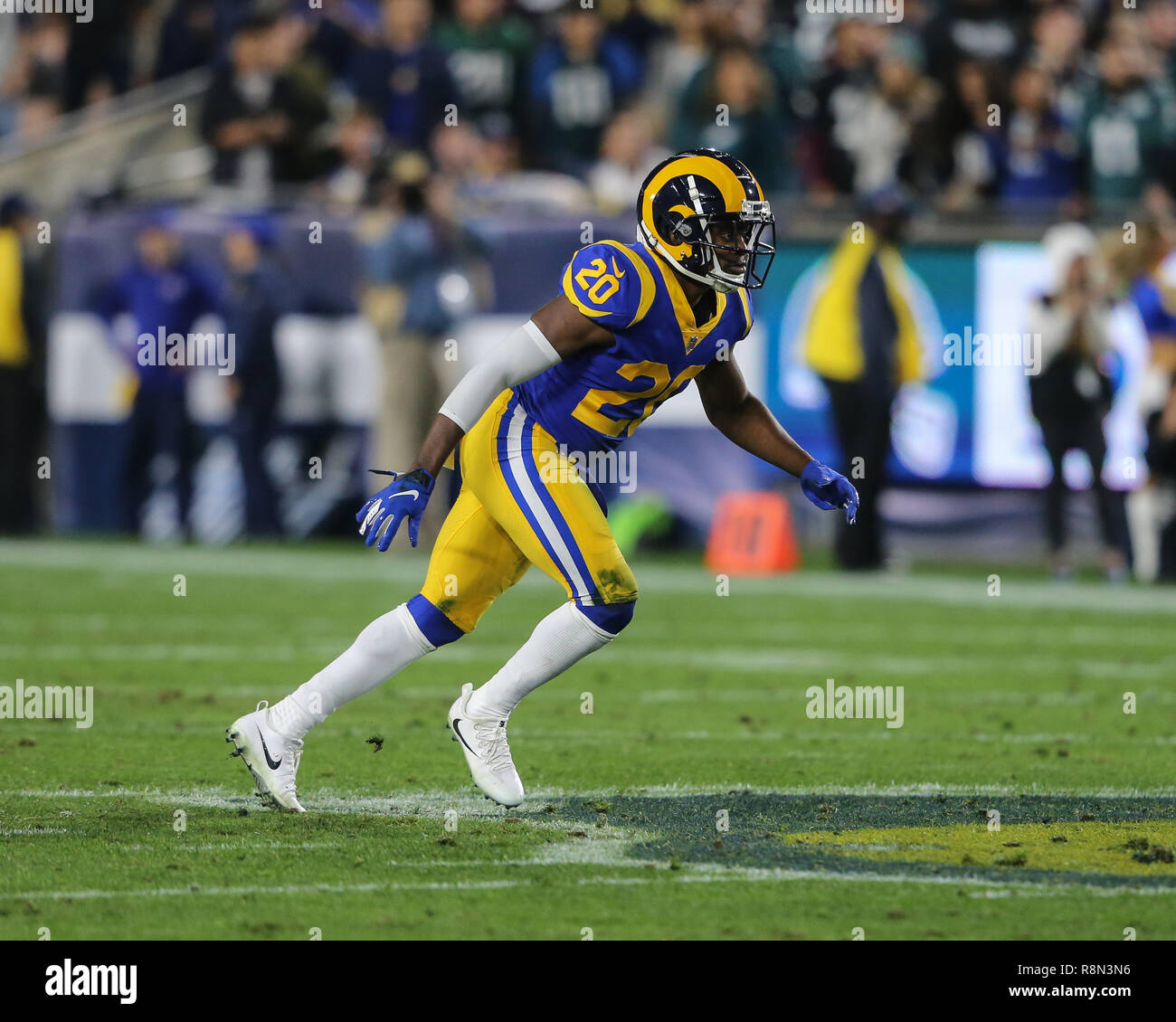 outlet store 9d750 a1330 Los Angeles, CA, USA. 16th Dec, 2018. Los Angeles Rams free ...