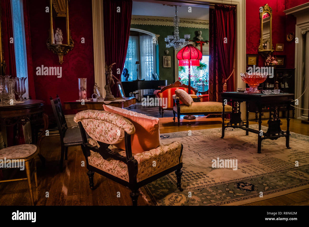 inside the toronto spadina house once occupied by the wealthy austin family in the 1920s - Stock Image