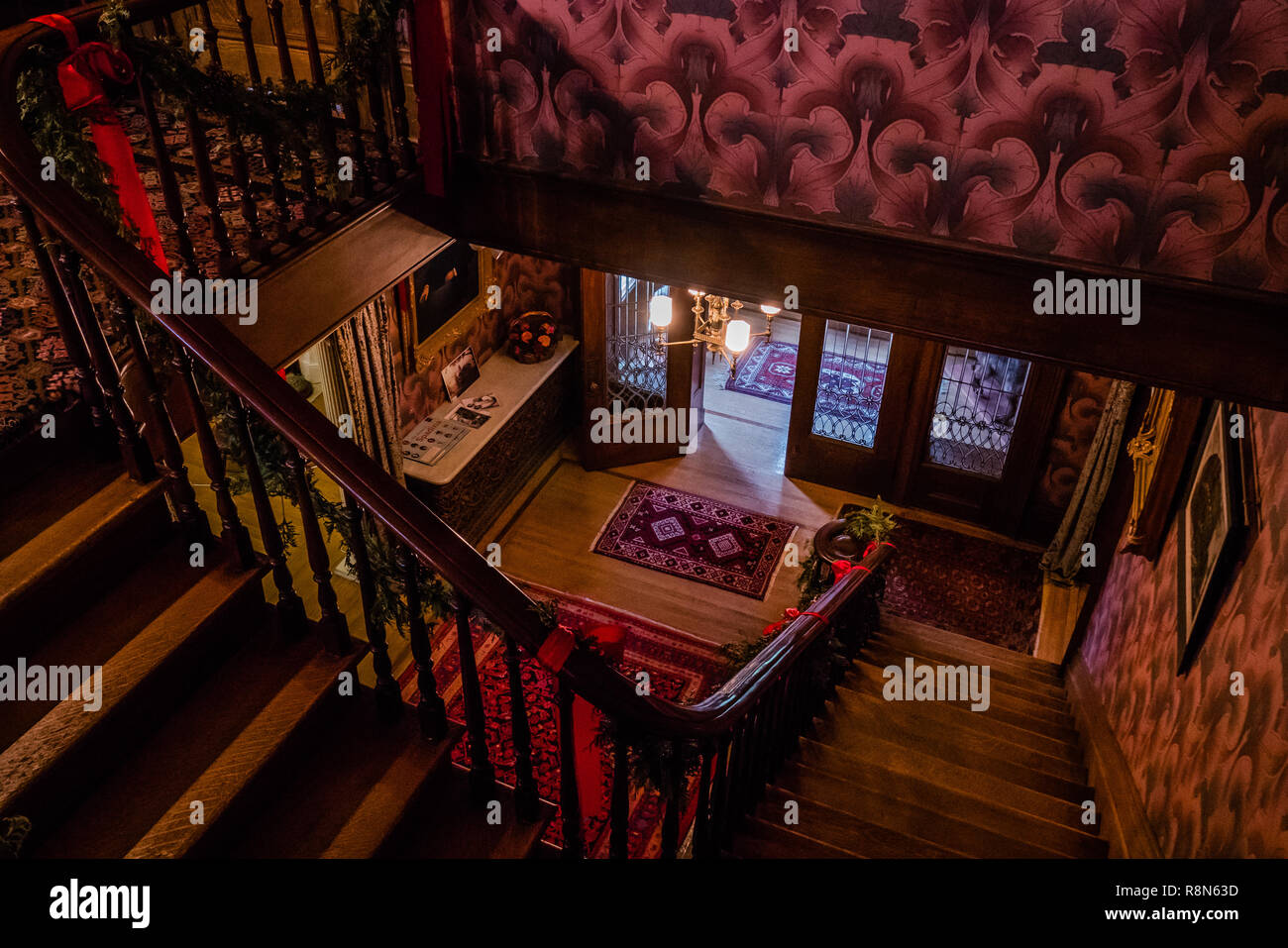 inside the toronto spadina house once occupied by the wealthy austin family in the 1920s Stock Photo