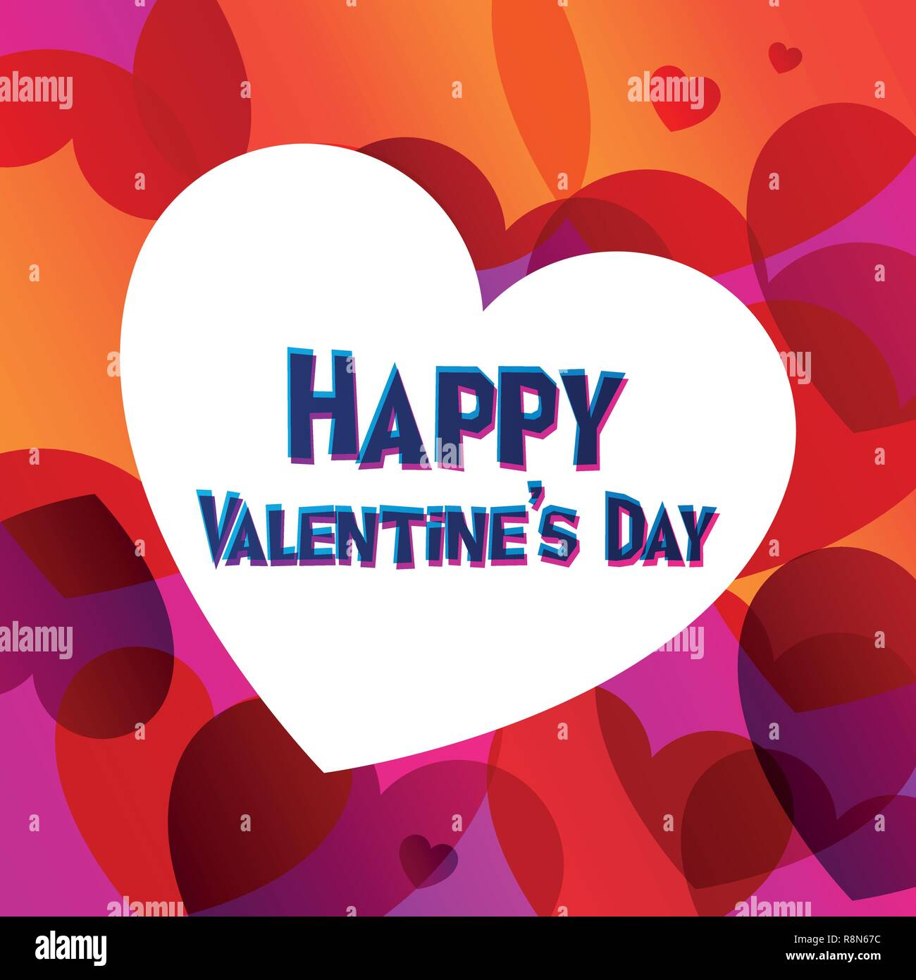 Happy Valentine Day Instagram Card In 2019 Graphic Trend Color