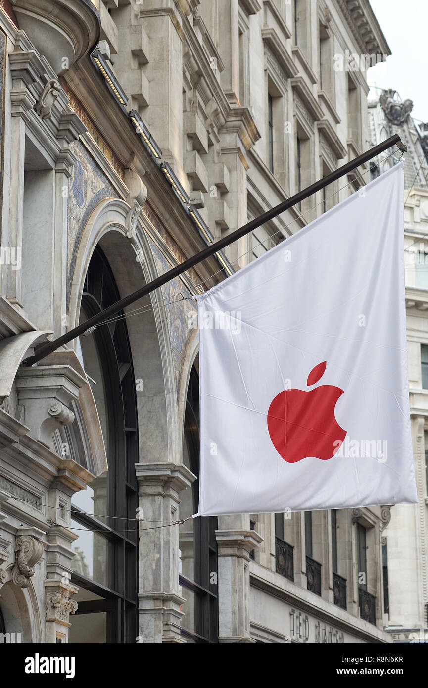 Apple stores around the world are turning red to honor of world Aids
