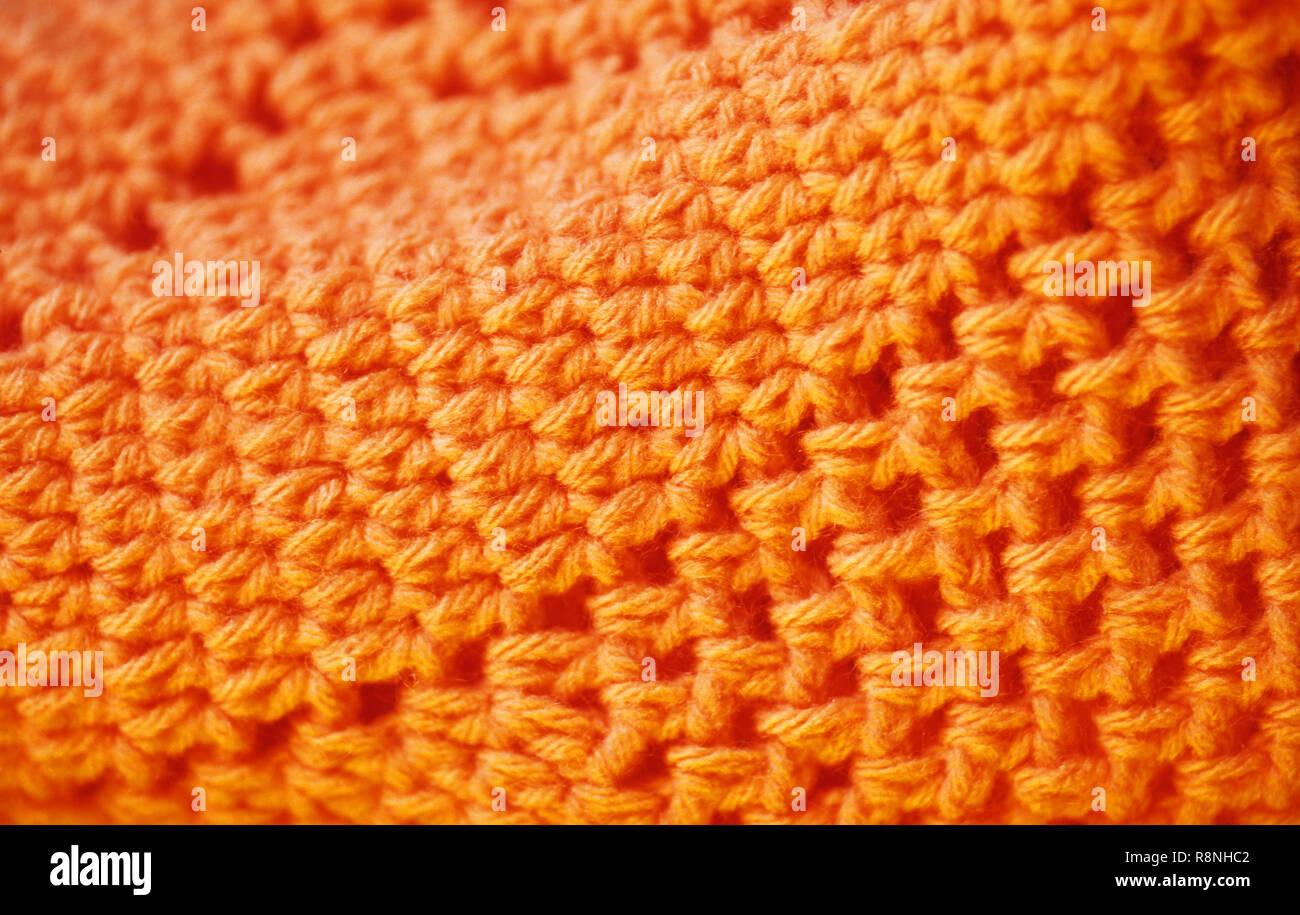 Handicrafts - Crochet - Stock Image